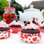 Májové cupcakes