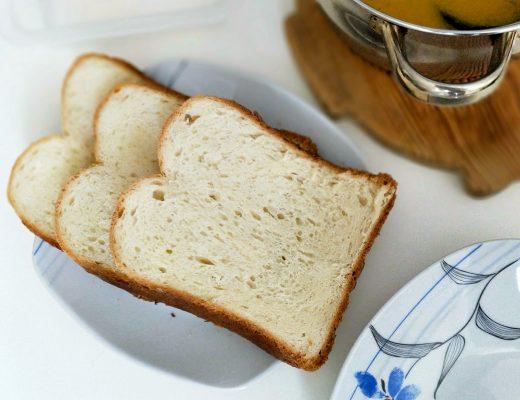 Domácí toustový chleba