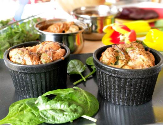 Špenátové suflé