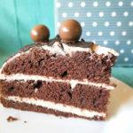 Čokoládový dort s banánovým krémem