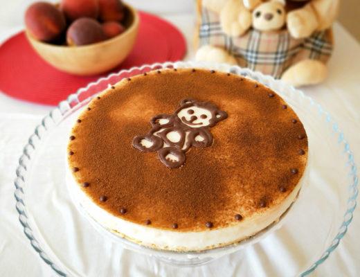 Dětský krupicový cheesecake